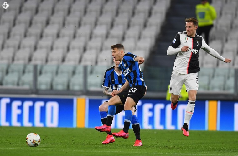 Juventus Pecundangi Inter Milan di Derby D'Italia