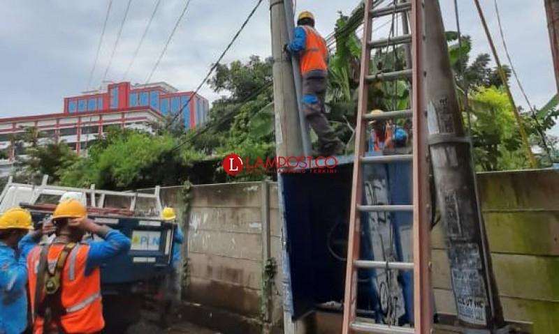 Kabel Gardu Digasak Maling, Listrik di Rumah Warga Padam