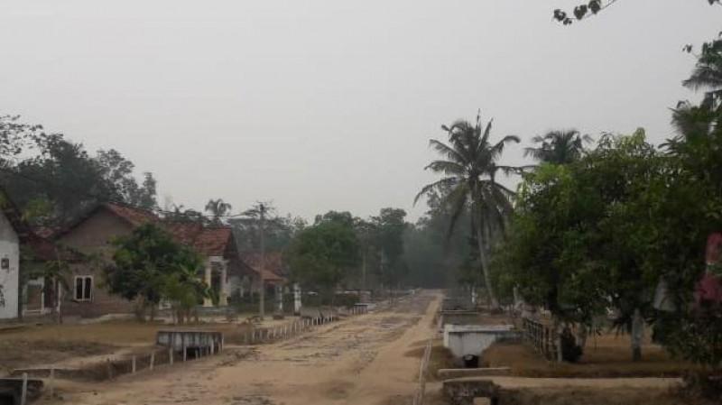 Kabut Asap Selimuti Lima Kecamatan di Tubaba