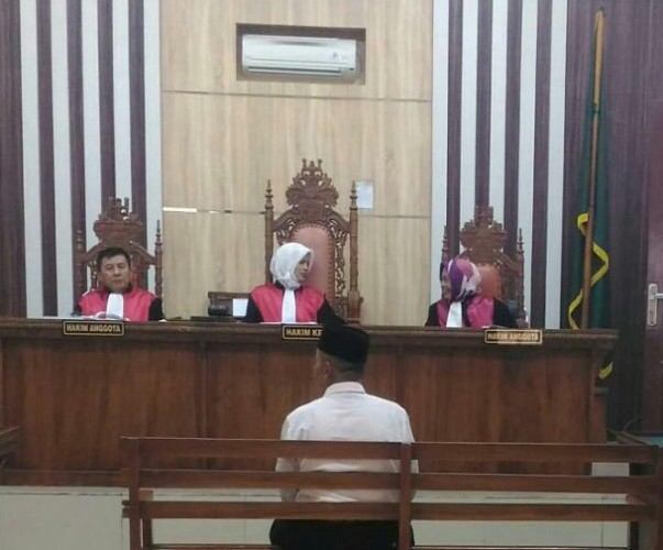Kades Muaramas Didakwa Korupsi Rp123 Juta Dana Desa