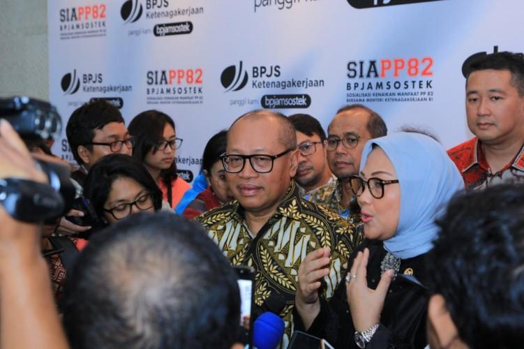 Kado Spesial Jokowi Tingkatkan Manfaat Program BPJamsostek untuk Pekerja Indonesia