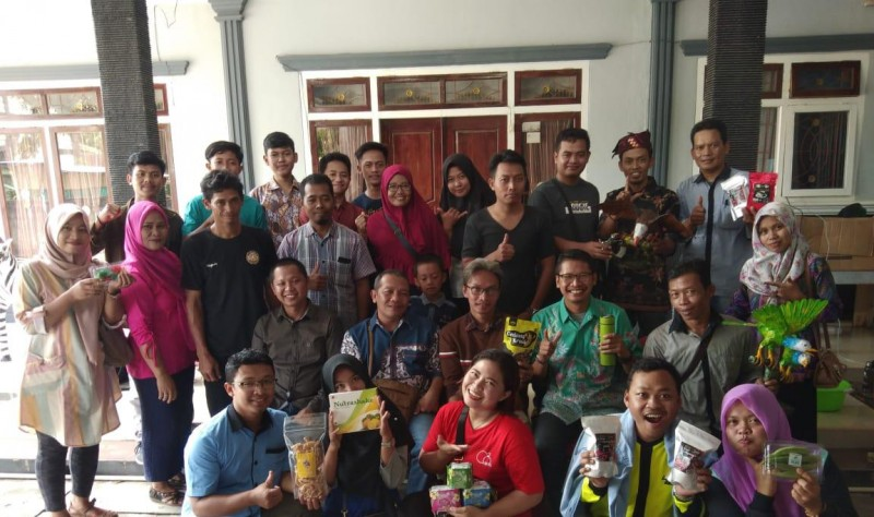 Kagama Lamsel dan Bank Sampah Sahabat Gajah Kolaborasi Majukan UMKM