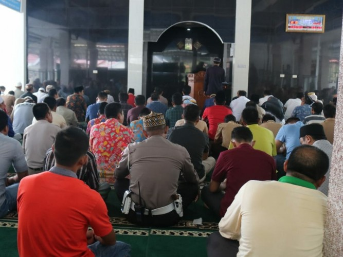 Kajati Lampung Laksanakan Kunker ke Mapolres Tanggamus