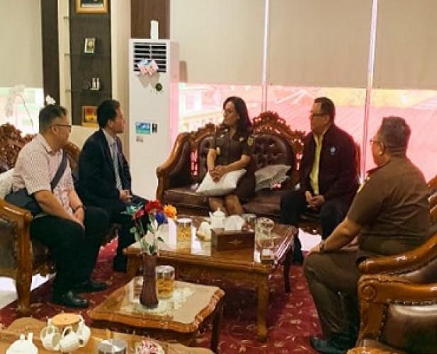 Kajati Terima Kunjungan PSMTI dan Guangxi Normal University