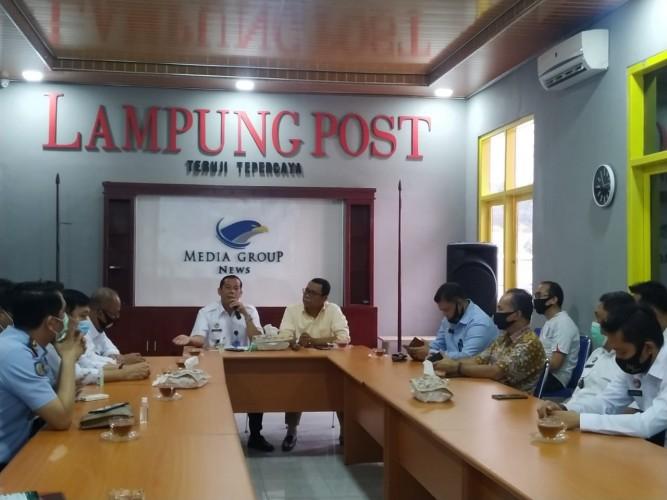 Kakanwil Kemenkumham Lampung Perkenalkan Program Eazy Passport