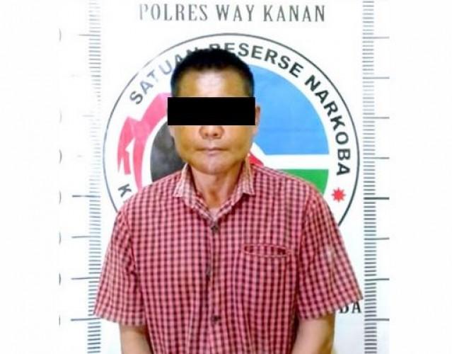 Kakek Pengedar Sabu di Register 44 Dibekuk Polisi