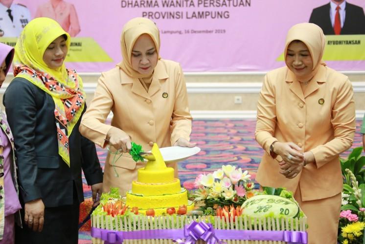 Kalangan Wanita Bersinergi Wujudkan Rakyat Lampung Berjaya