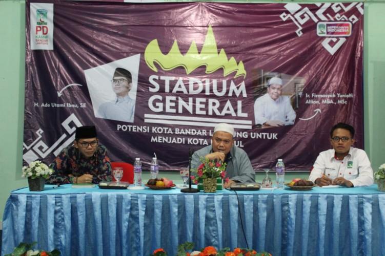 KAMMI Gelar Stadium General Gali Potensi Unggul Bandar Lampung