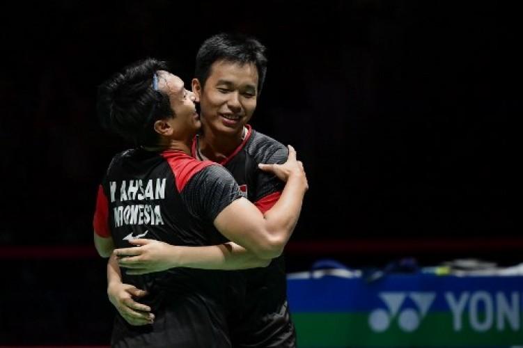 Kandaskan Ganda Korsel, Ahsan/Hendra Melaju ke Final