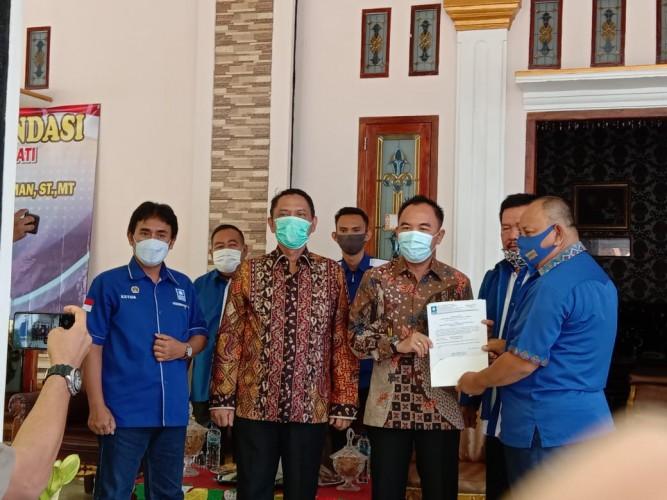 Kantongi B.1-KWK PAN, Raden Adipati Surya-Ali Rahman Total Didukung 4 Parpol