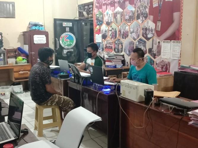Kantongi Sabu, Pria di Kotaalam Digelandang ke Kantor Polisi