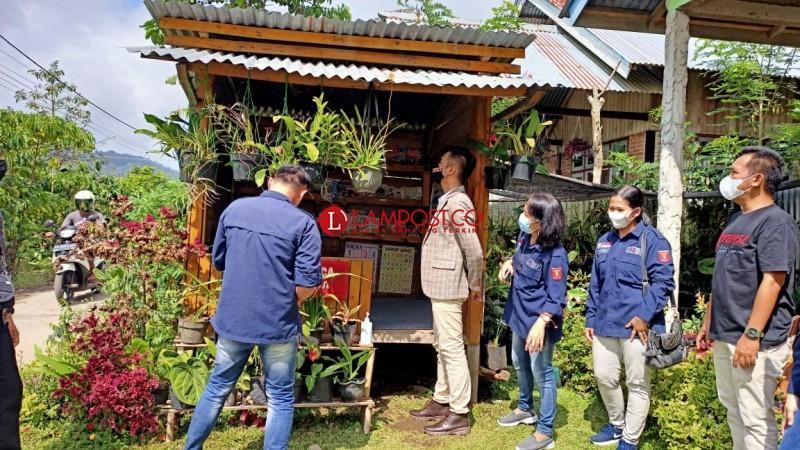 Kantor Bahasa Lampung Sambangi Empat Lamban Baca di Lambar