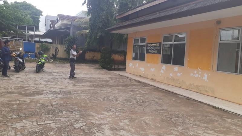 Kantor Dinas Sosial Lampura Disegel Pemilik Tanah