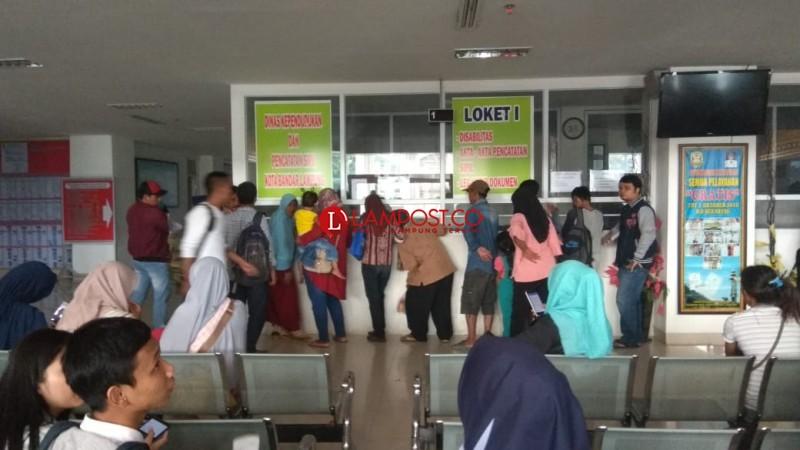 Kantor Disdukcapil Bandar Lampung Pindah, Penataan akan Dilakukan Kembali