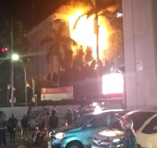 Kantor Kejaksaan Agung Terbakar