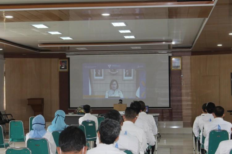 Kanwil DJPb Provinsi Lampung Semarakkan Hari Bakti Perbendaharaan Ke-17