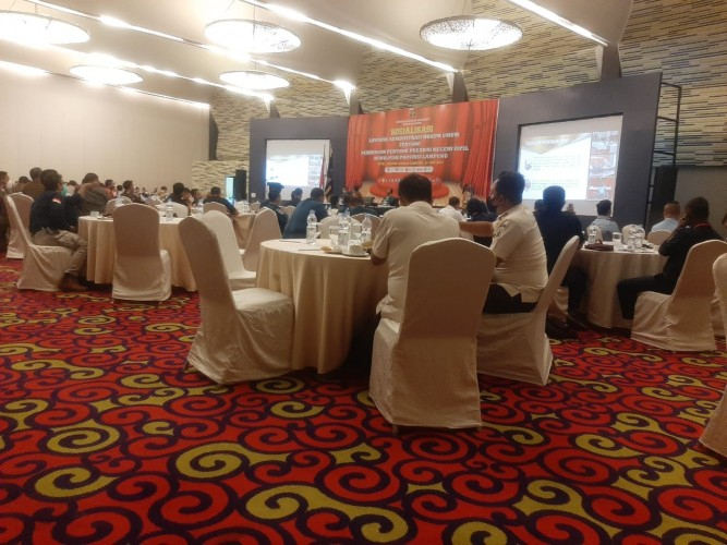 Kanwil Kemenkumham Lampung Sosialisasikan Layanan AHU tentang Pembinaan PPNS Provinsi Lampung