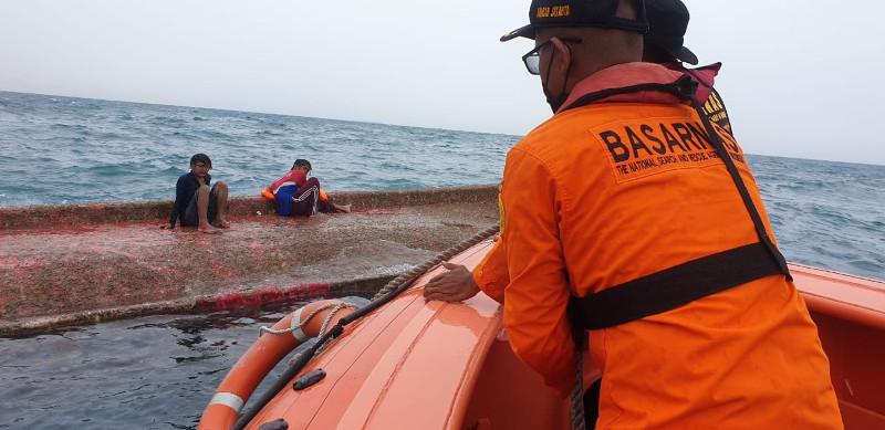 Kapal Nelayan Tenggelam di Perairan Teluk Jakarta Mengakibatkan Empat Orang Hilang