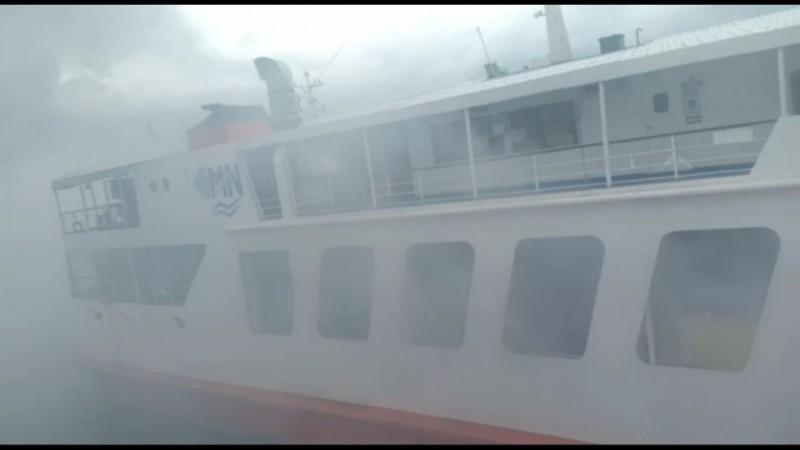 Kapal Penumpang Gunsa Terbakar, Seluruh Penumpang Dievakuasi
