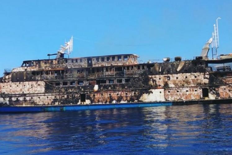 Kapal Terbakar di Maluku Utara, 181 Penumpang Selamat