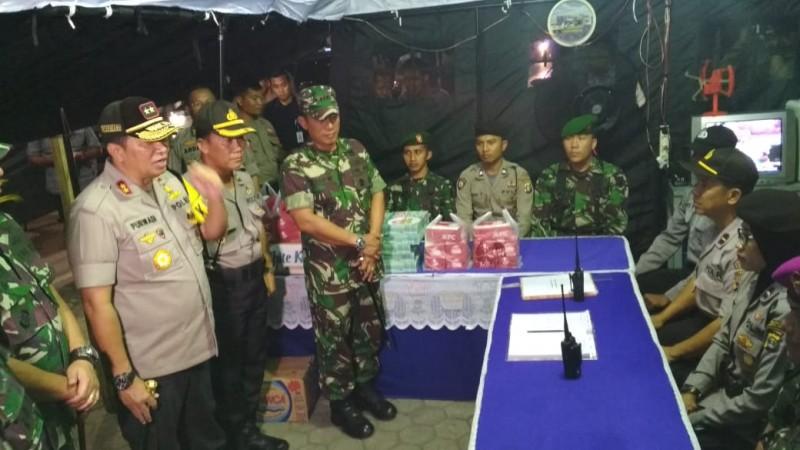 Kapolda Lampung Pantau Persiapan Pengamanan Pemilu