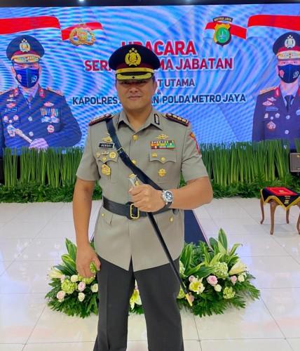 Kapolres Jakpus Putra Lampung Minta Doa untuk Amanah