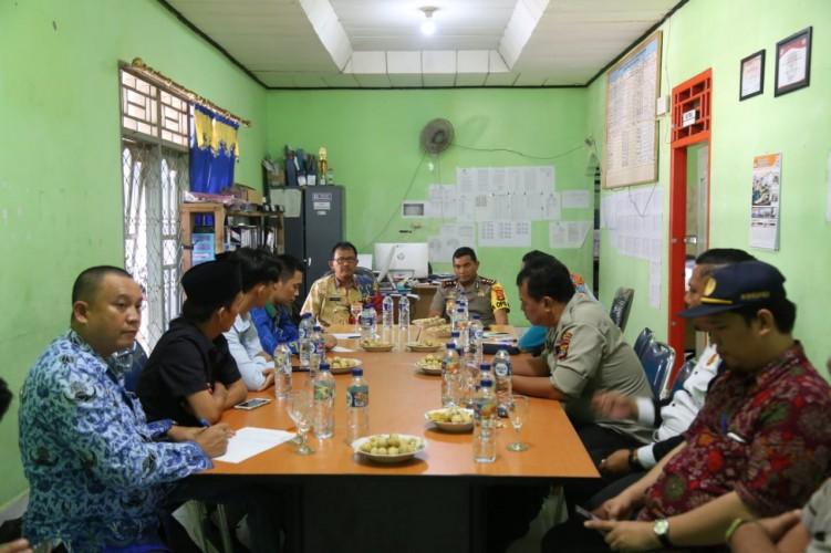 Kapolres Lampung Barat Tinjau Persiapan Pemilu 2019