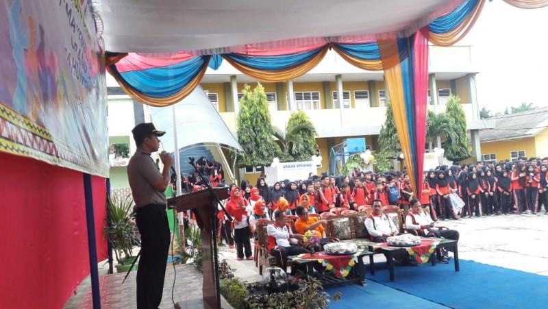 Kapolres Lampung Utara Buka Jalan Sehat dan Pentas Seni Yayasan Kemala Bhayangkari