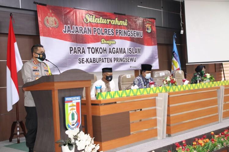 Kapolres Minta Warga Pringsewu Jaga Keamanan Jelang Pilkades Serentak