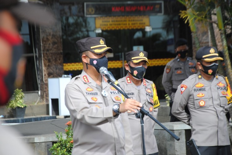 Bhabinkamtibmas Di- <i>warning</i> Netral dalam Pilkada Bandar Lampung