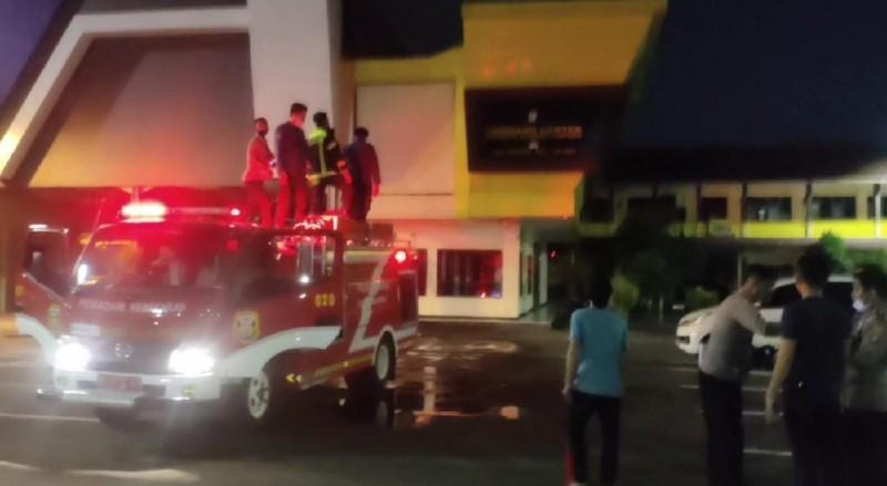 Kapolresta Ungkap Penyebab Percikan Api di Gedung Command Center