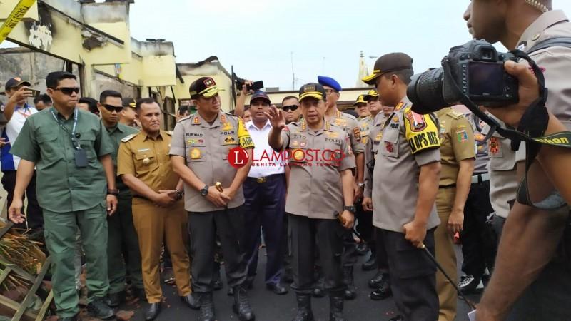Kapolri Sebut Pemilu di Lampung Berlangsung Aman