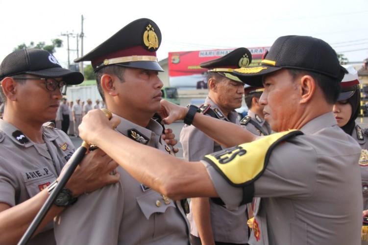 Kapolsek Tanjungkarang Barat dan Telukbetung Selatan Resmi Berganti