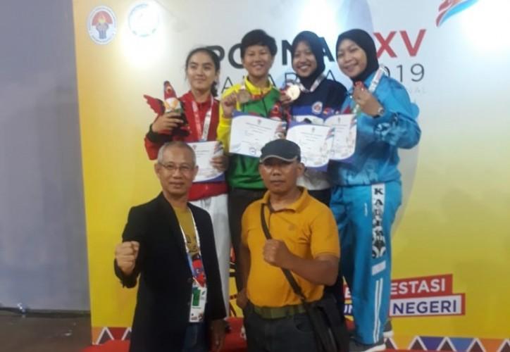 Karateka Putri Sumbang Perunggu di Popnas