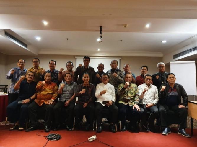 Karomani Koordinatori 20 Rektor Temui Wapres