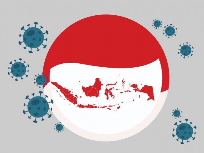 Kasus Covid-19 di Indonesia Mencapai 2.385 dalam Satu Hari