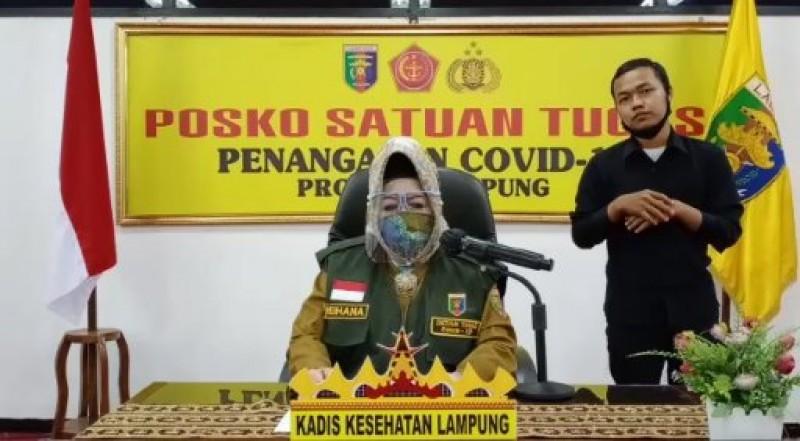 Kasus Covid-19 Lampung Bertambah Menjadi 307 Orang