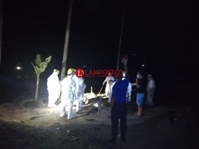 Kasus Kematian Akibat Covid-19 di Lampung Capai 1.100