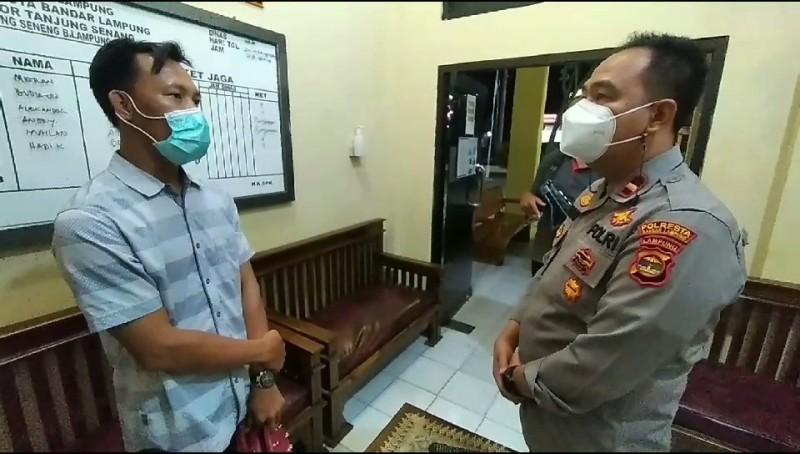 Kasus Pemerasan Seorang Wartawan dan KUA Pesawaran Berujung Damai