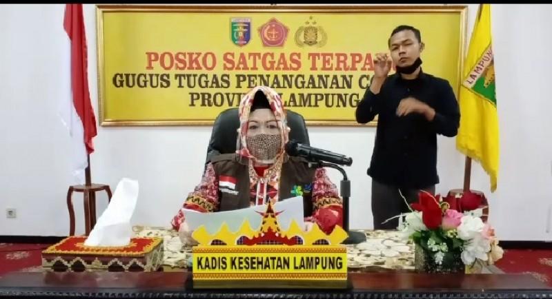 Kasus Positif Covid-19 di Lampung Bertambah Jadi 187