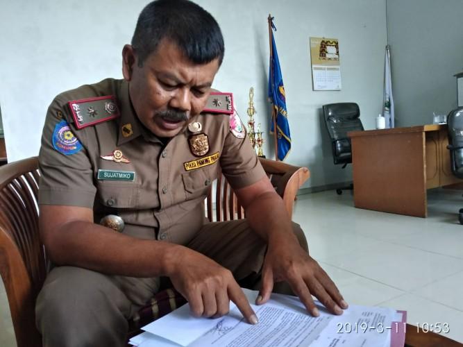 Kasus Raibnya Uang Gaji Satpol PP Tubaba Mandek di Kepolisian dan Inspektorat