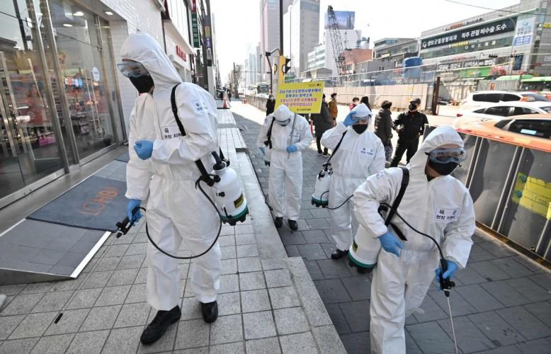 Kasus Virus Korona di Korsel Dekati Angka 6 Ribu