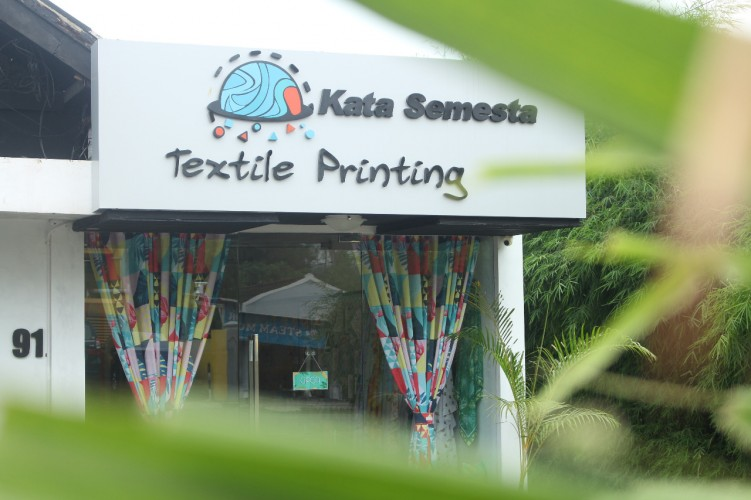 Kata Semesta Textile Printing Pertama di Lampung