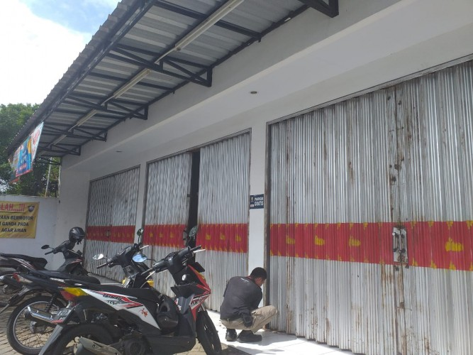 Kawanan Pencuri Bobol Minimarket di Jalan Sultan Haji