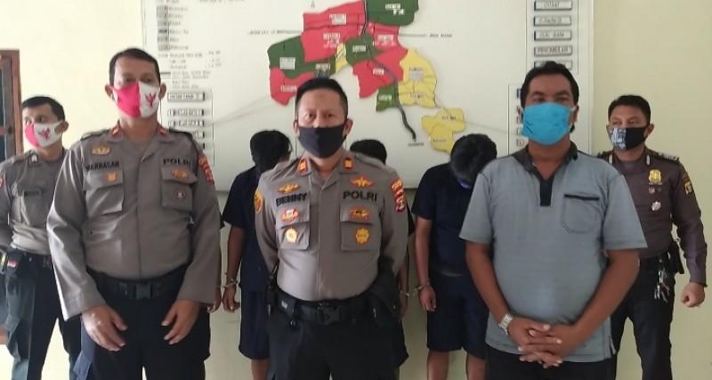 Kawanan Pencuri Motor di Way Jepara Diringkus Polisi