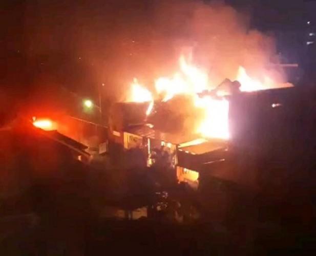 Kebakaran di Kotabaru Diduga Akibat Korsleting