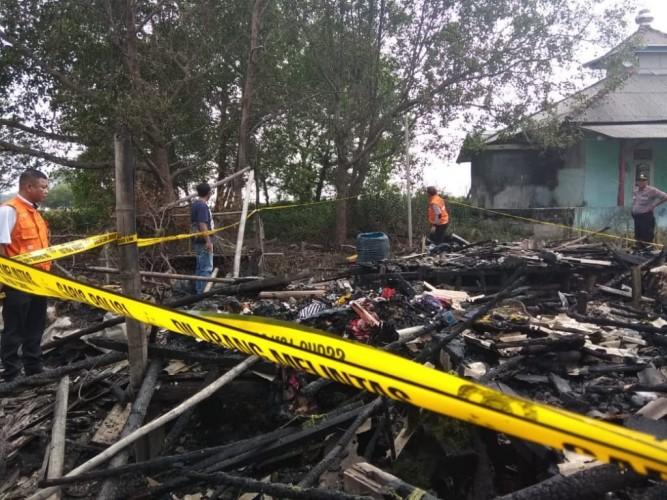 Kebakaran di Kualajaya Akibat Korsleting Listrik