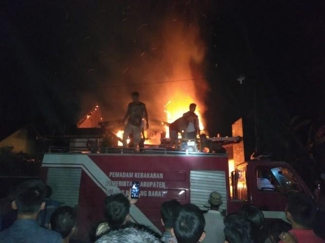 Kebakaran di Panaragan Berawal dari Kamar Belakang