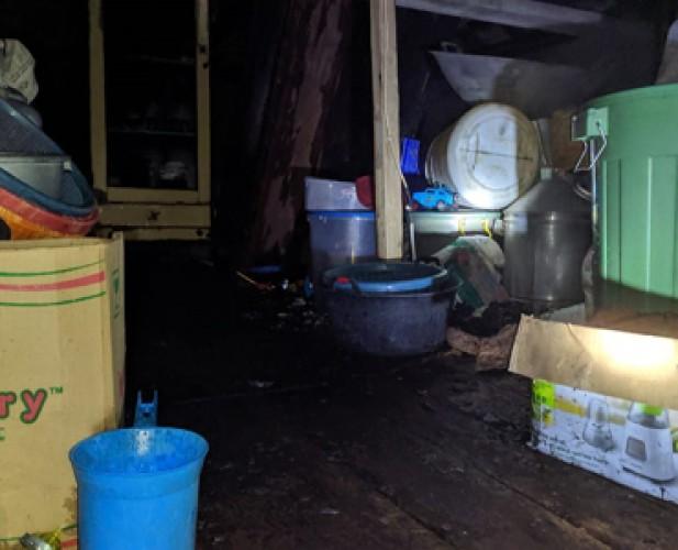 Kebakaran Loteng Rumah Warga Penengahan Mengakibatkan Kerugian Rp10 Juta