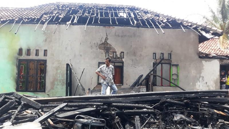 Kebakaran di Menggala Diduga Akibat Korsleting Listrik